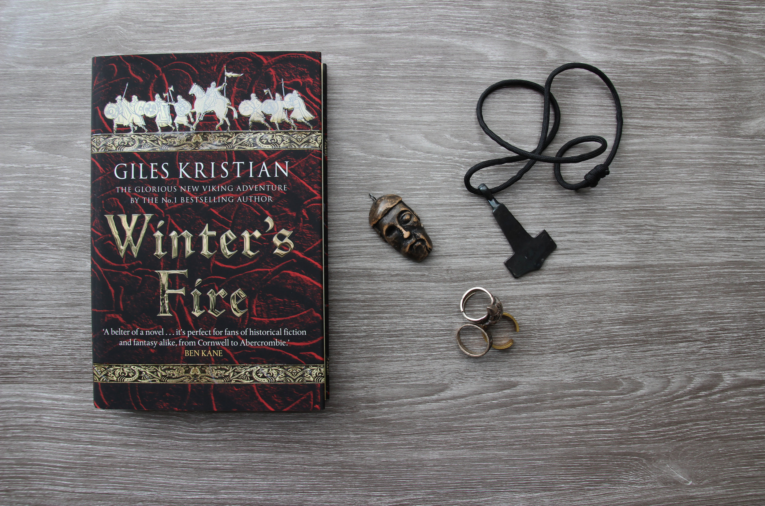 Winter's Fire by historic author Giles Kristian
