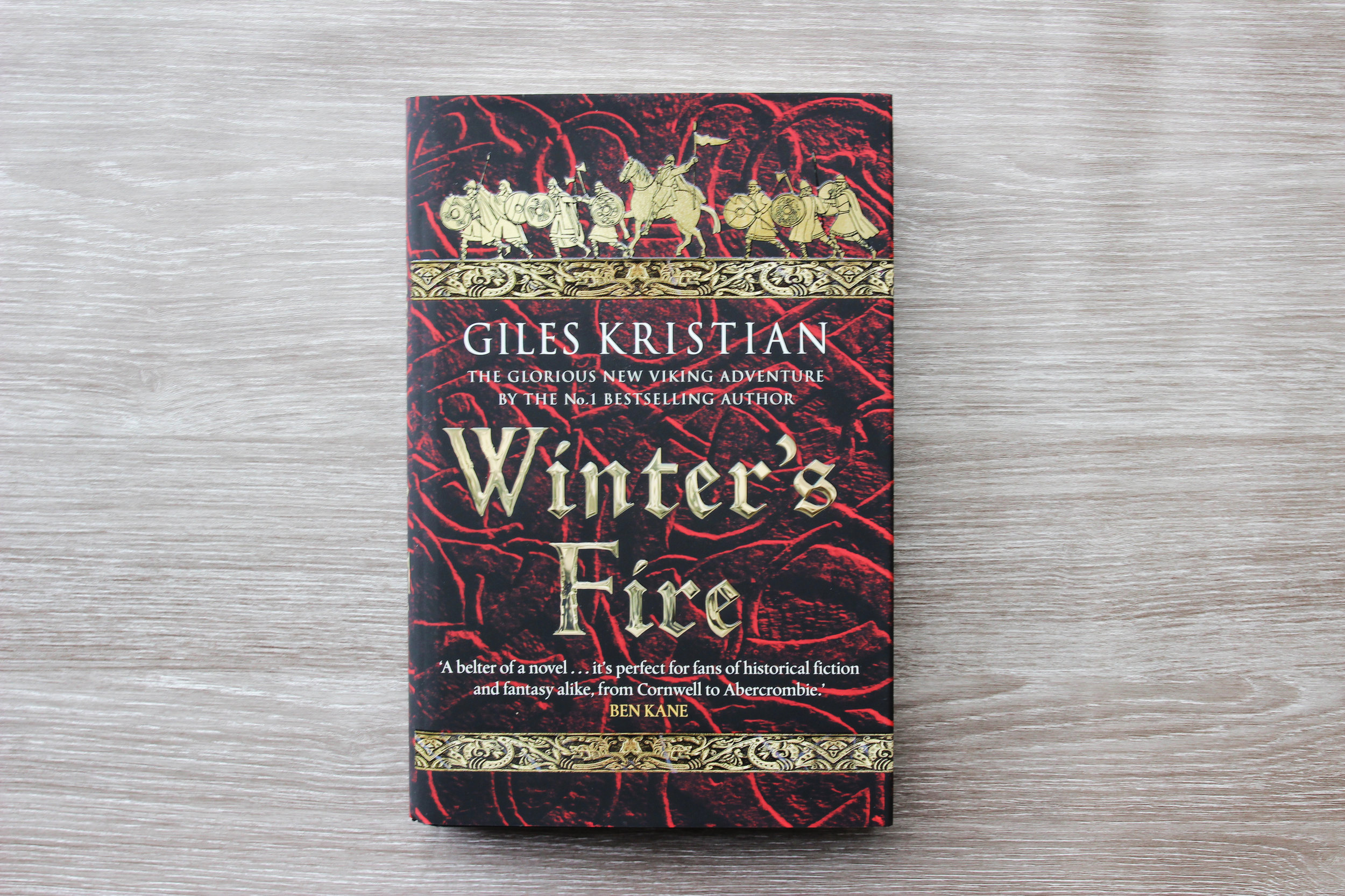 First Edition Winter's Fire by Giles Kristian