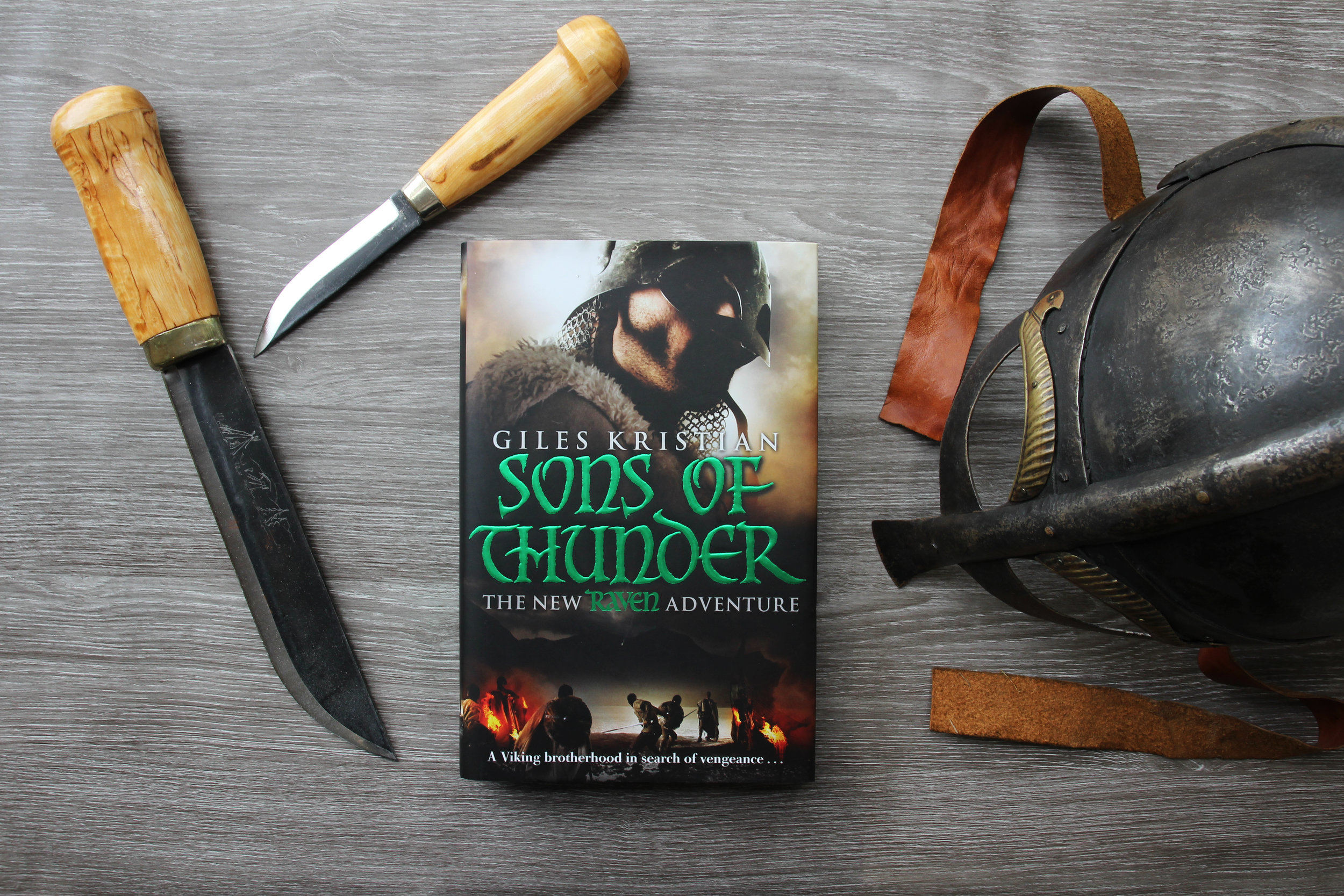 First Edition Sons of Thunder by Giles Kristian
