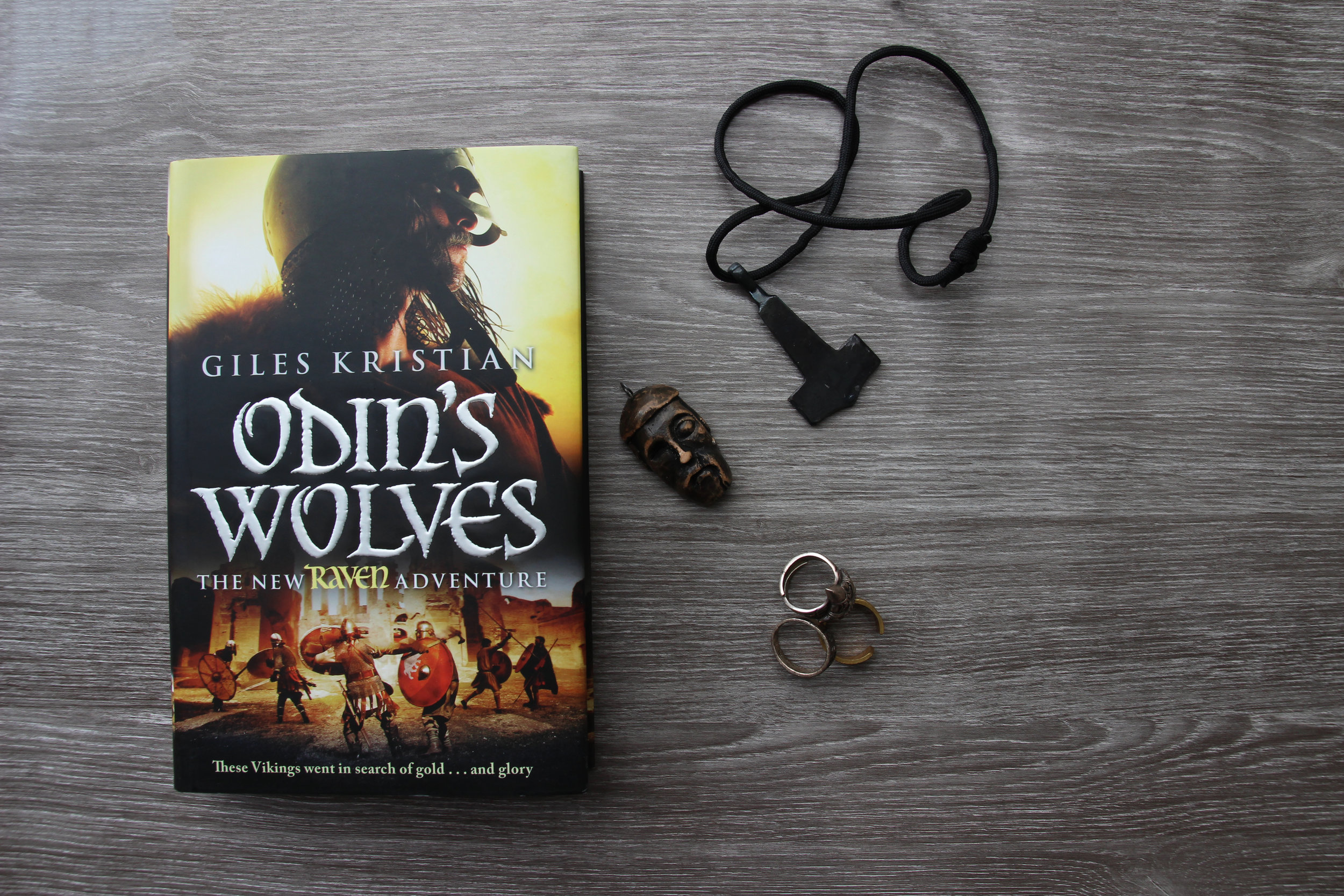 Odin's Wolves by historic novalist Giles Kristian