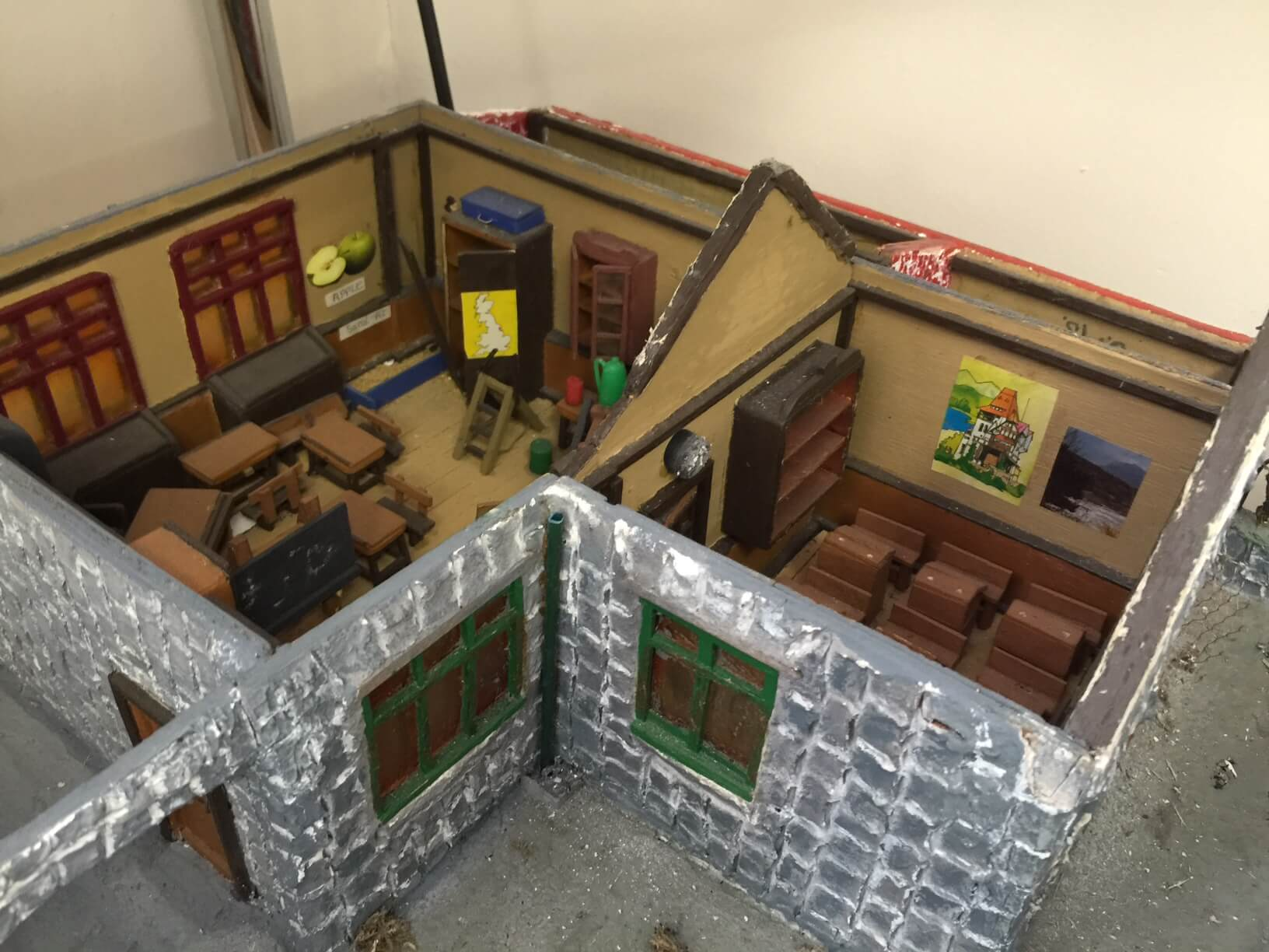 Model of the old school house
