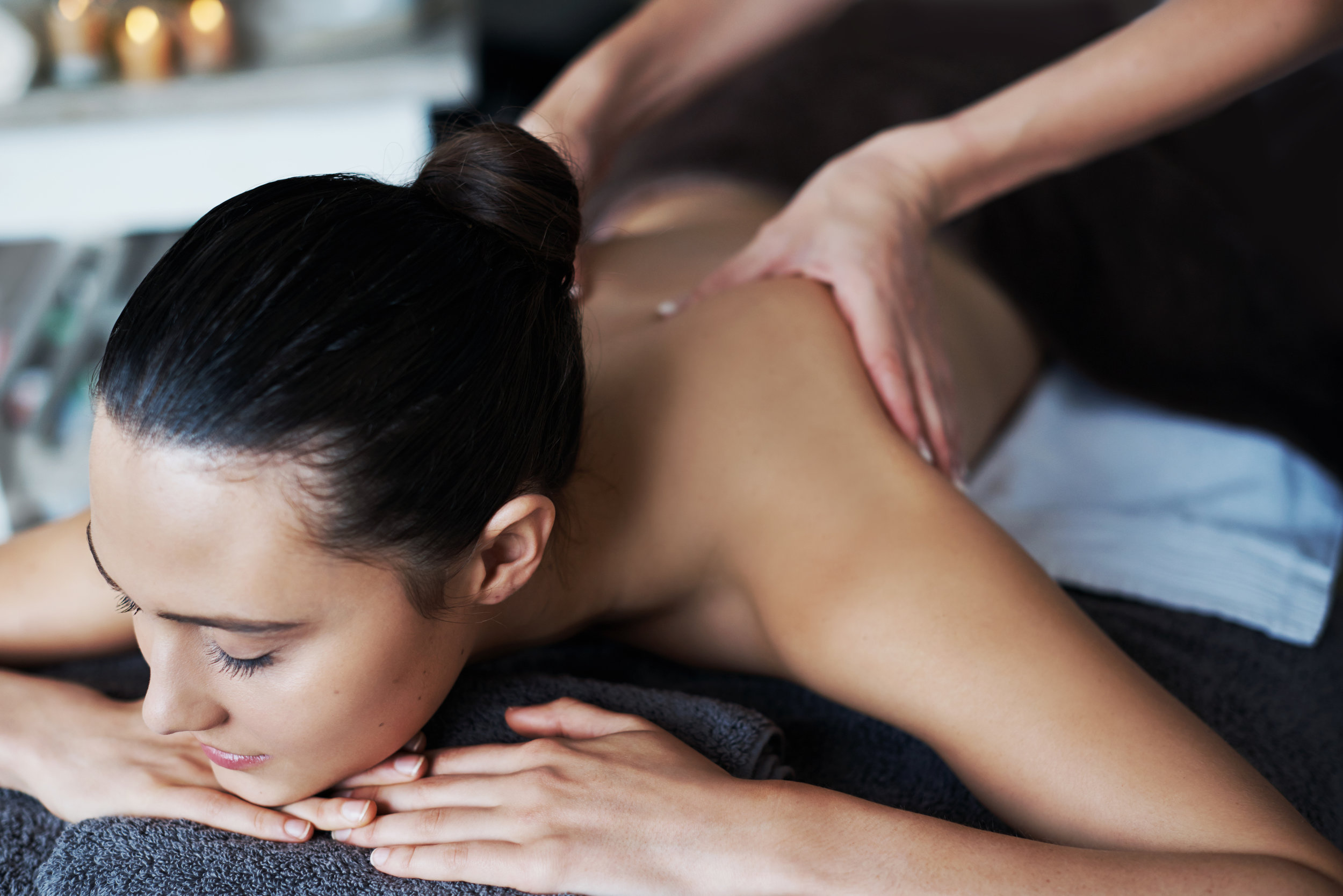 massage therapist -
