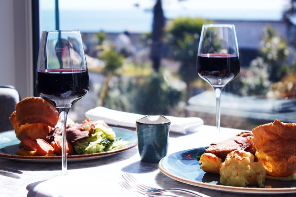 Sunday Lunch | Indulge - Sunday Lunch at the Brasserie Bay restaurant, features locally sourced meat, fish and vegetarian options.