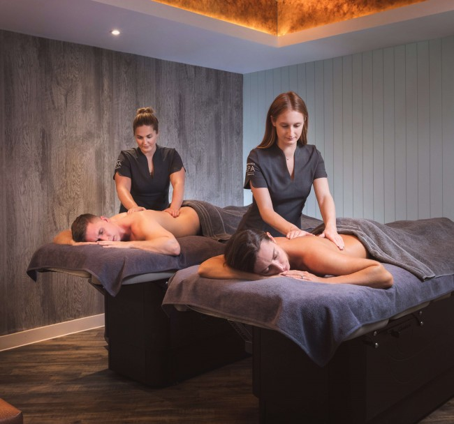 Couples Spa Day | Relax and unwind - Enjoy a glass of prosecco and a mouth-watering 2-course lunch. After lunch, a Couple's Rhassoul will allow you and your partner to relax and revive. Finally, a luxury couples room for a 60 minute Full Body Massage tailored to your needs.