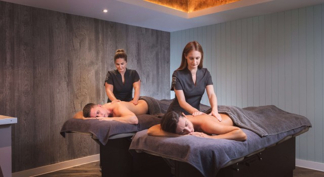 Couple's Spa Break | £659 per couple - Get some much-needed quality time together with a 2-night Couples Spa Break.Your stay will include:• Classic King/Twin Room;• Full Cornish breakfast in Brasserie on the Bay each morning;• One 2-course spa lunch with prosecco in the Garden Kitchen and 3-course dinner in Brasserie On The Bay;• One 60-minute Couple's Massage;• Rhassoul mud experience;• 3-hour entry to the spa facilities.