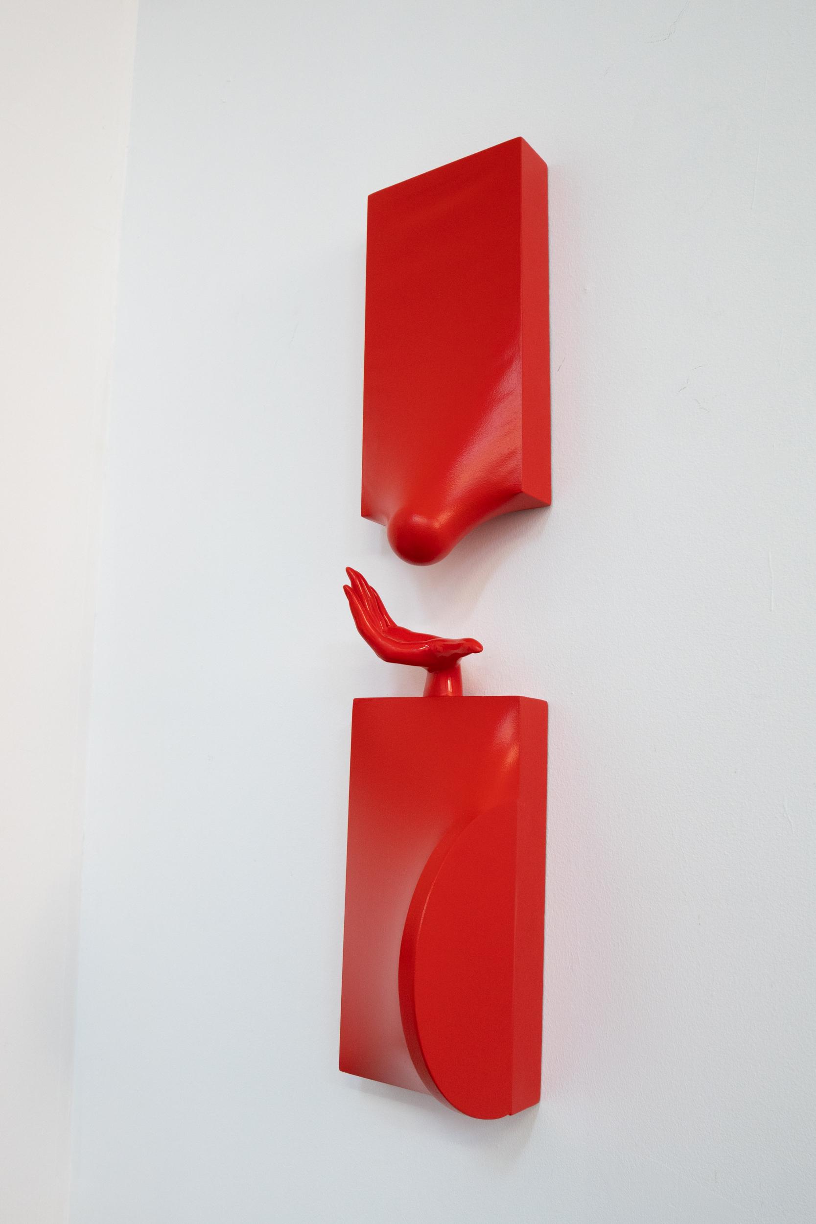 Red Gesture II by Samantha McCurdy