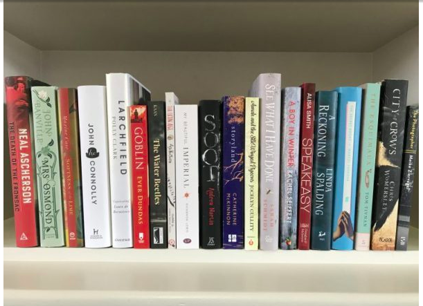 The novels, including  My Beautiful Imperial , which were included on the Walter Scott Prize Academy's Recommended list for 2018.