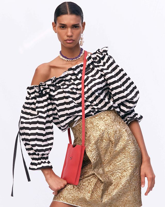 First collection designing prints for @Dereklam #10Crosby Full lookbook + details @voguemagazine dot com