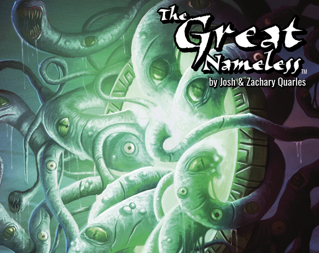 The Great Nameless - Our original tabletop game is currently under development!