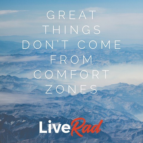 #liverad #inspiringkindness #wecanalldosomething #whatwillyoudo #sharegoodness #giveback #serve #motivationalmonday #greatthings #comfortzone