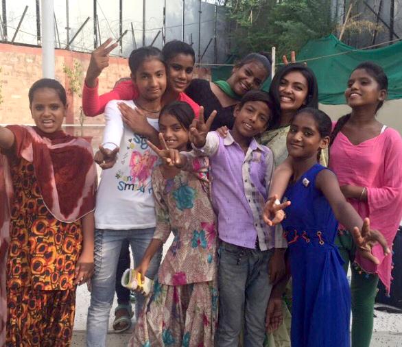 #GirlPower 🌸💪🏾  (Maitri 3rd from the right)