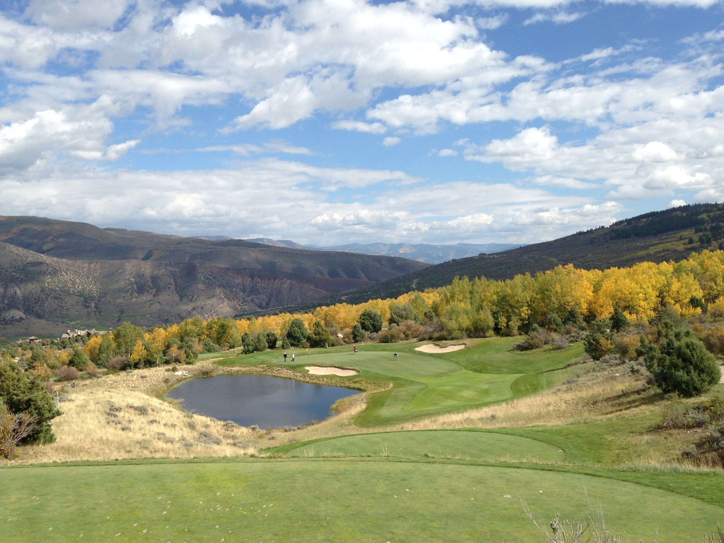 In the final round of the Golfweek Conference Challenge, the downhill par-3 17th was a big swing hole for Denver.