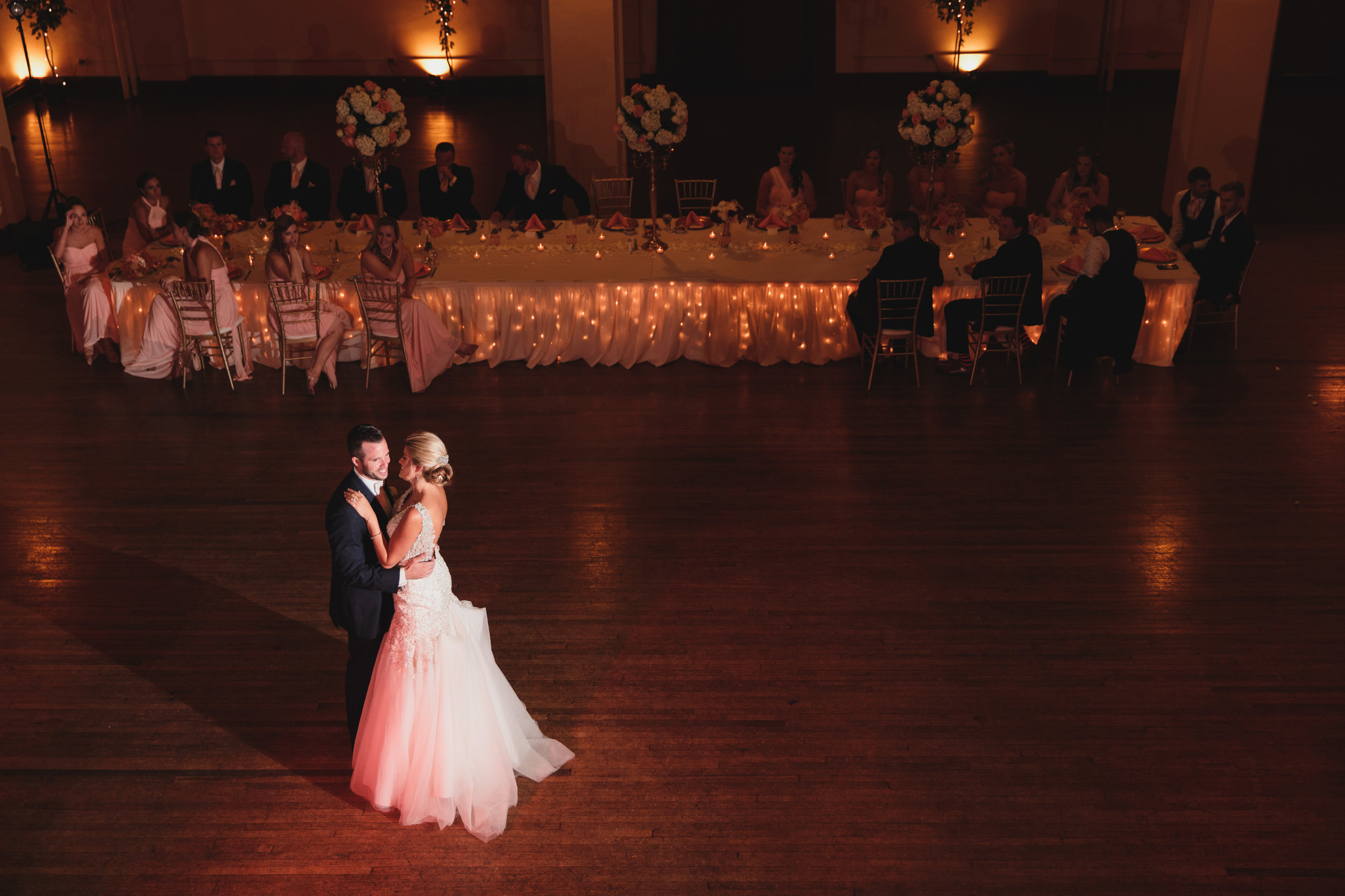 First Dance Columbus Athenaeum - Columbus Wedding Photographers