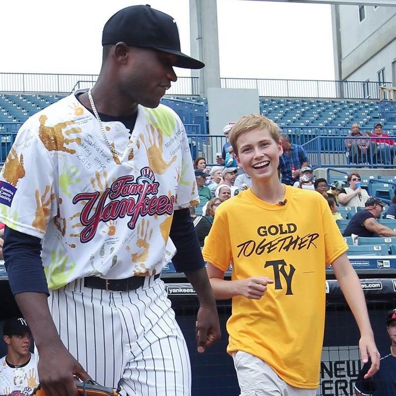 Tampa Yankees #GoldTogether Game