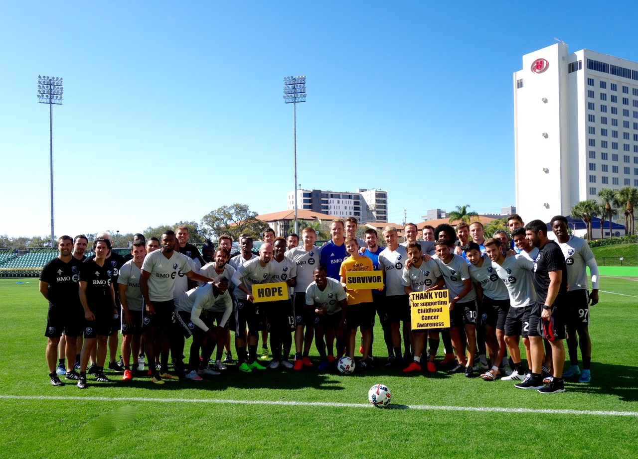 MLS Montreal Impact Team Awareness Talk