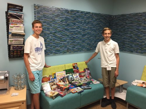 Teens Giving To Pediatric Oncology Teen Lounge