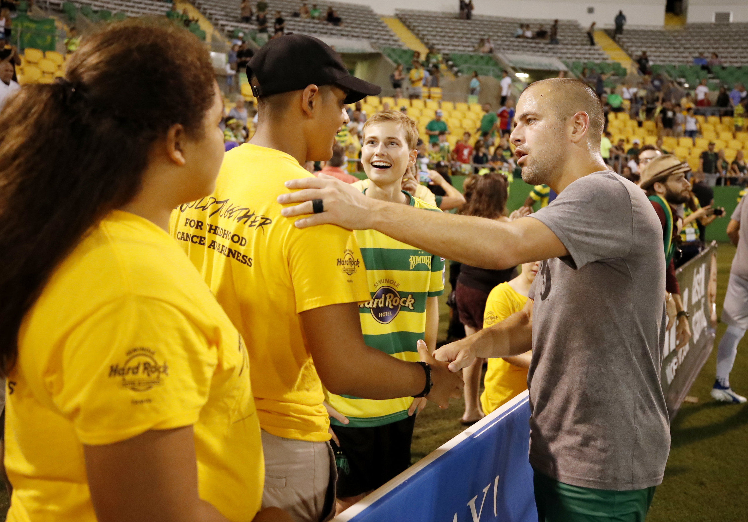 Ambassador Events - Introducing Cancer Survivors to Pro Athletes