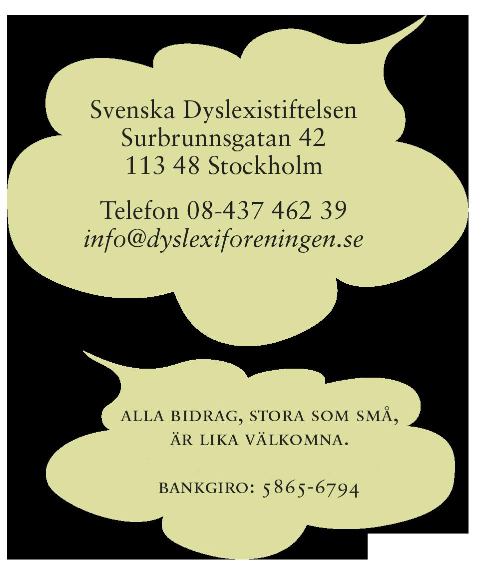 Svenska Dyslexistiftelsen