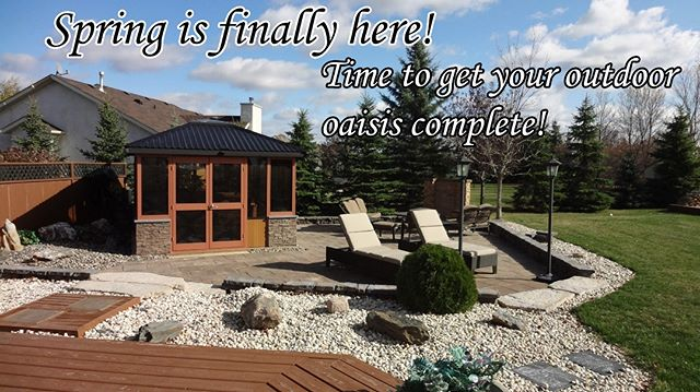 Whether your looking for indoor or outdoor spaces, Flipside Renos has you covered.  This stunning patio used to house a pool but with some vision has become an entertainment space to die for! Complete with a propane fireplace and waterfall combo and a gazeebo housing a luxurious 8 person hottub. . Contact us today for a free estimate and to see what we can do for you! . www.flipsiderenos.com flipsiderenos@gmail.com 204-981-3795 . #winnipeg #construction #winnipegbusiness #winnipeglocal #patio #decks #flipsiderenos #oldtobold #flipyourhouse #fliphouse #outdoorentertainment #outdoor #entertainment #gazebo #hottub #relaxation