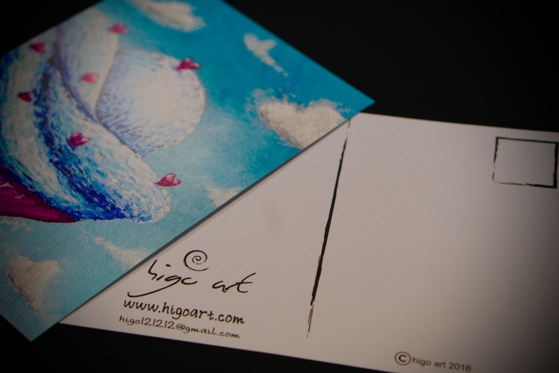 Higo Art - Postcard