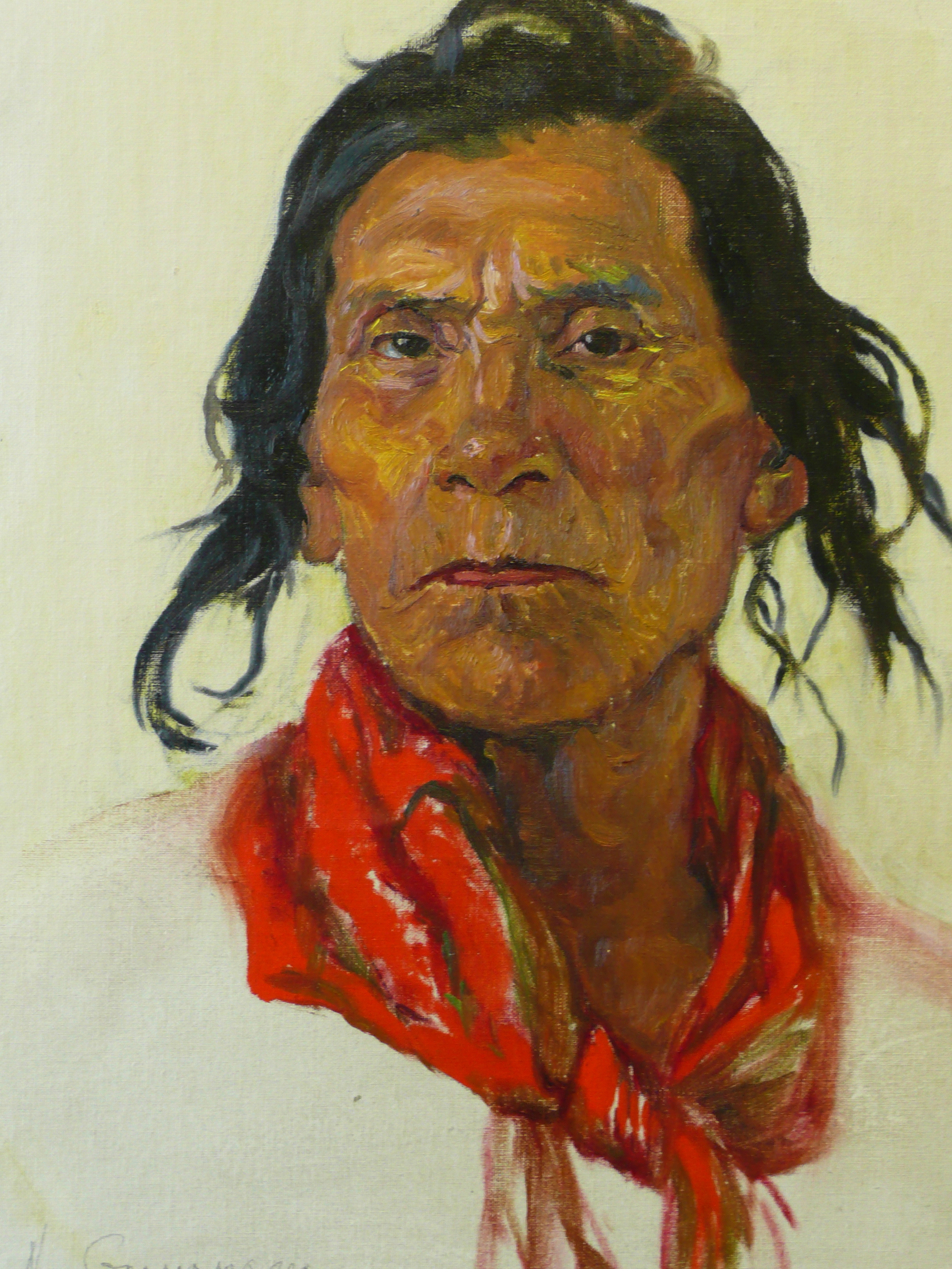 deGrandmaison, N. - Portrait of a Native Man with Red Scarf.jpg