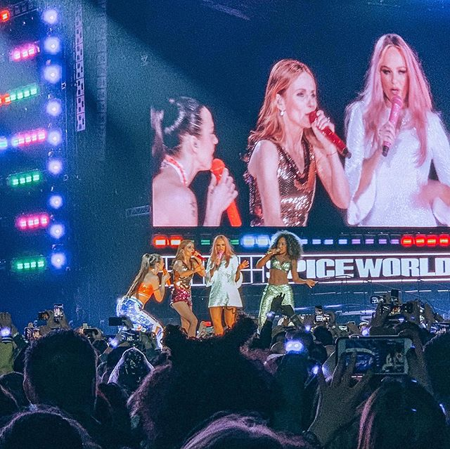 still not over this 🇬🇧 #spicegirls #spiceworld2019 #wembleystadium #93baby #blspresets