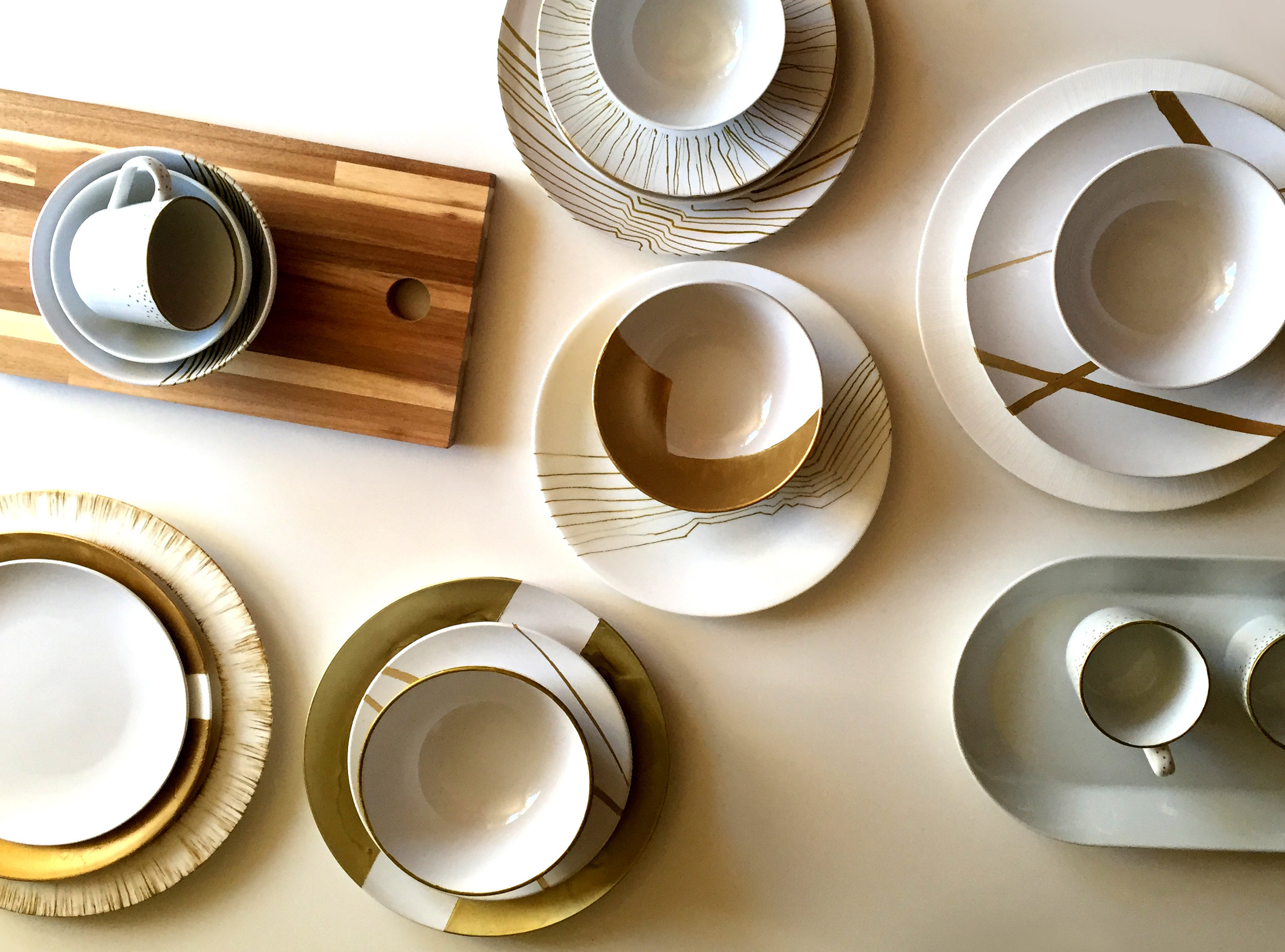 tableware: holiday collection
