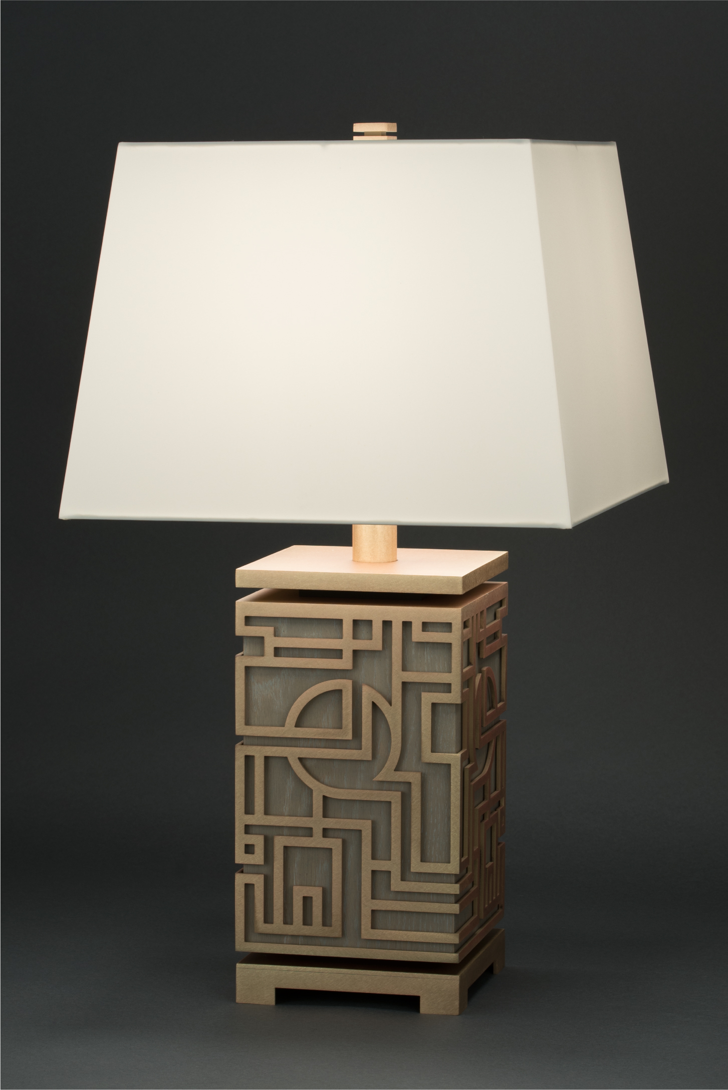 The Marlowe table lamp for  boyd Lighting