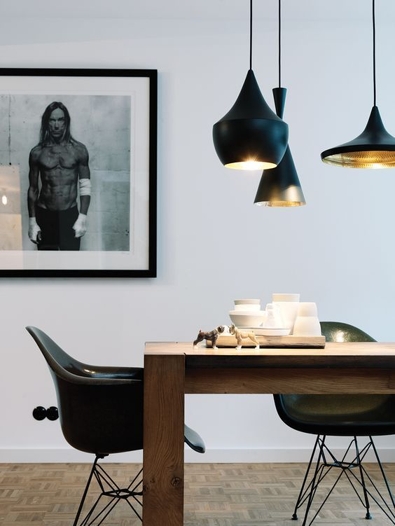 interior inspiration for dining table lights