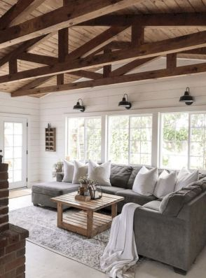 interior inspiration for an extension with vaulted wooden ceiling