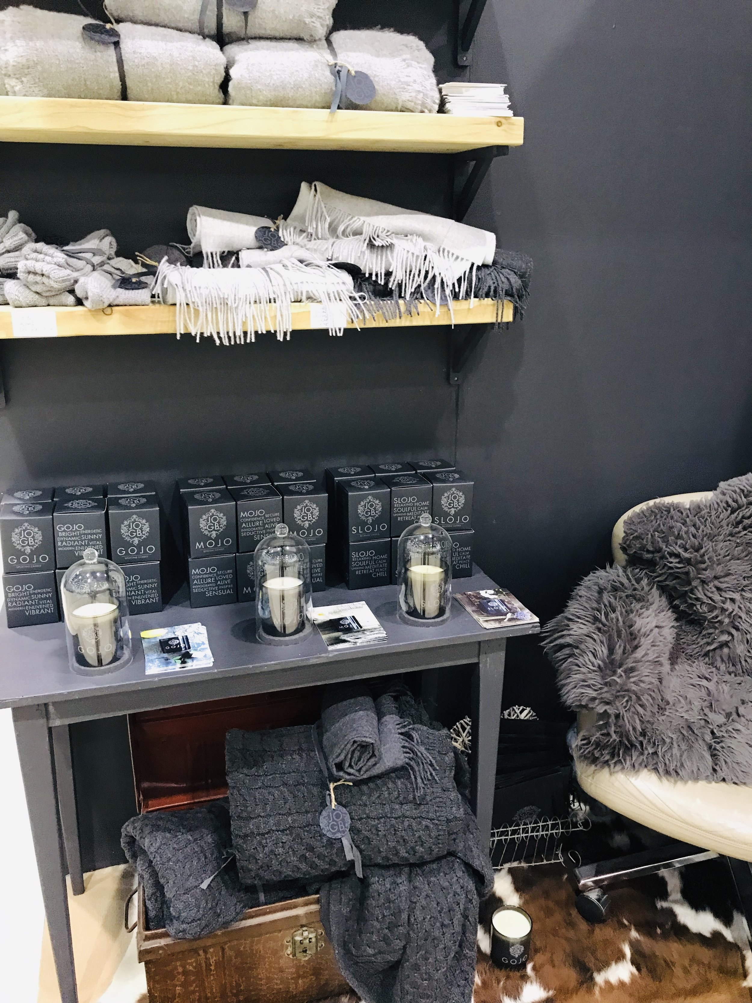 Sneak peek at our JOGB Pop Up Shop at the 2019 Country Living Spring Fair