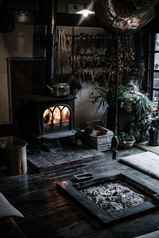Dark boho Interiors for a cosy home.jpg