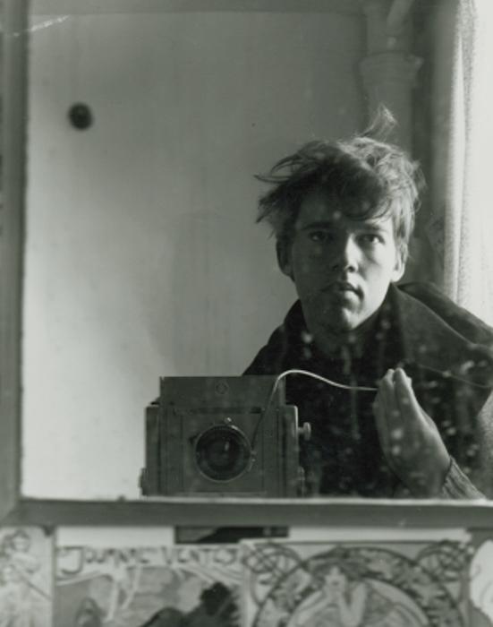 The artist at 19, Halifax, Nova Scotia
