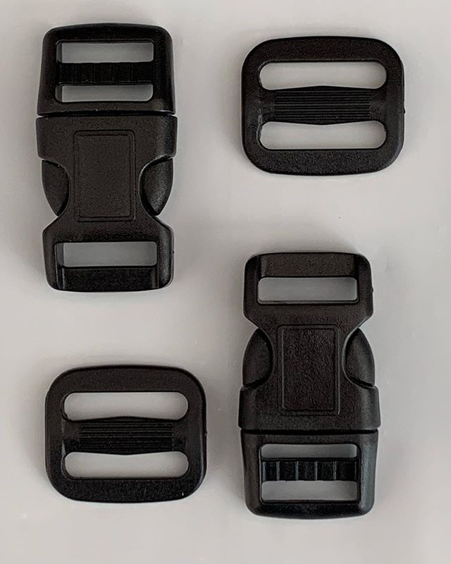 We also do replacement parts. This is our Bike Helmet Buckle Kit. Set of two 5/8 buckles to replace or repair the buckle on your helmet.