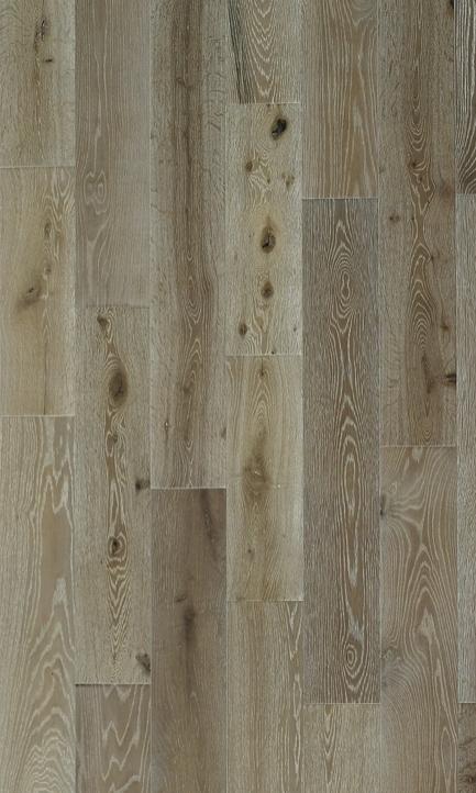 """hardwood flooring   UA Floori  ng Eiffel Gray Oak   7.5"""" wide engineered white oak floors, random lengths"""