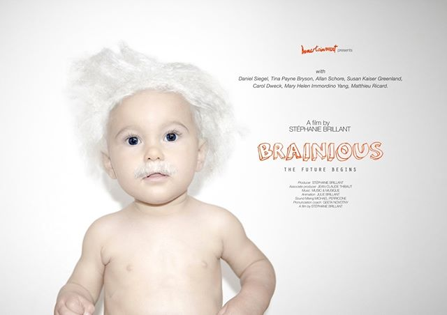 BRAINIOUS is not about how smart is a child, but how a child can be smart. This documentary explains what every adult should know about kids' brains in order to help children thrive, and unlock their potential. Today, we do know a lot about the brain, but curiously we don't use our knowledge to raise our children, or educate them. Schools are still the same, parents have the same doubts and make the same mistakes. Knowing what is happening in our children's brains change the paradigm, and force to think about education in a more enlightened way. From emotion to mindsets, BRAINIOUS resonates also with our inner-child, and probably helps us to understand better the grown ups we've become. a documentary by @stephanie_brillant  #Brainious