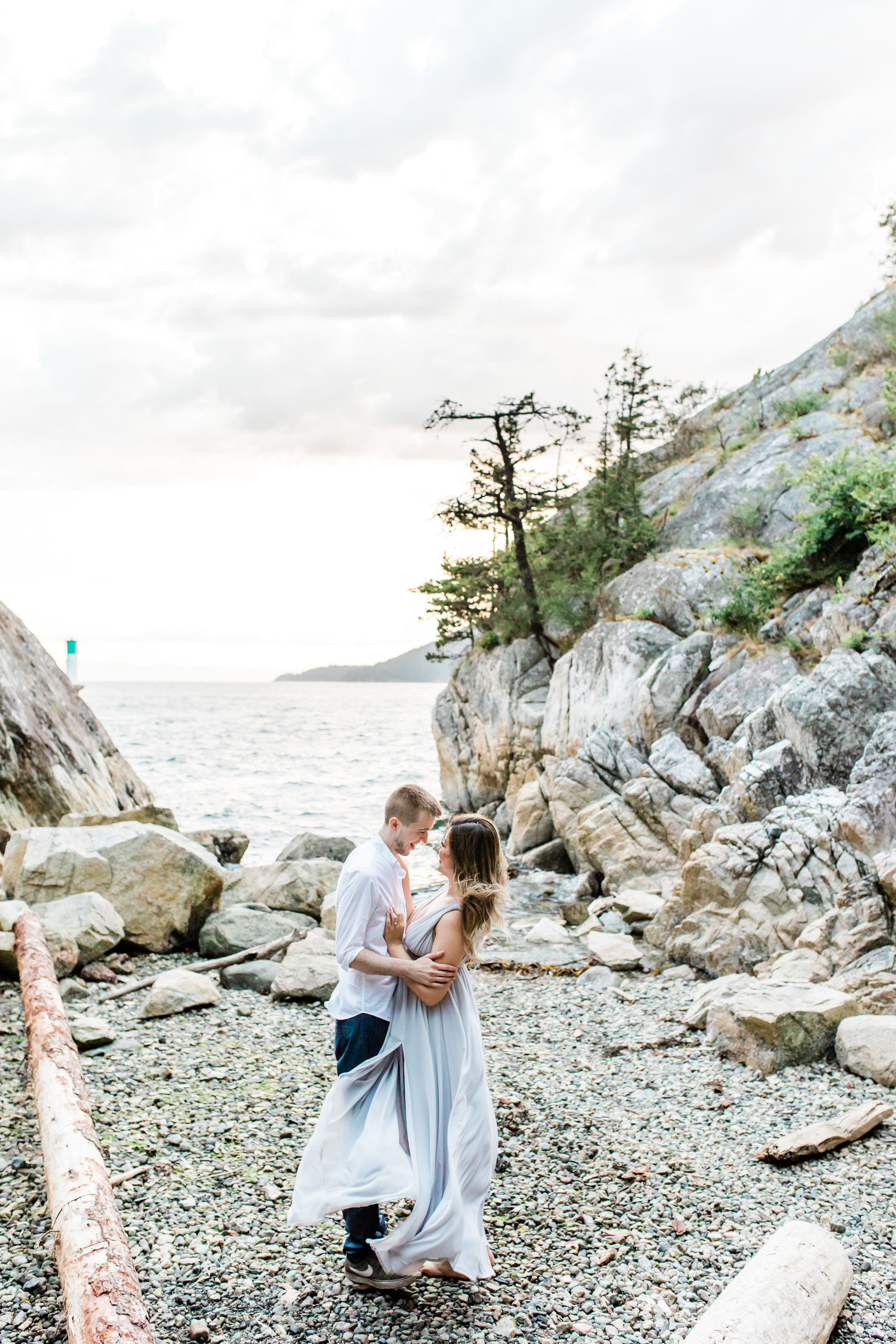 whytecliff park Vancouver bc engagement session