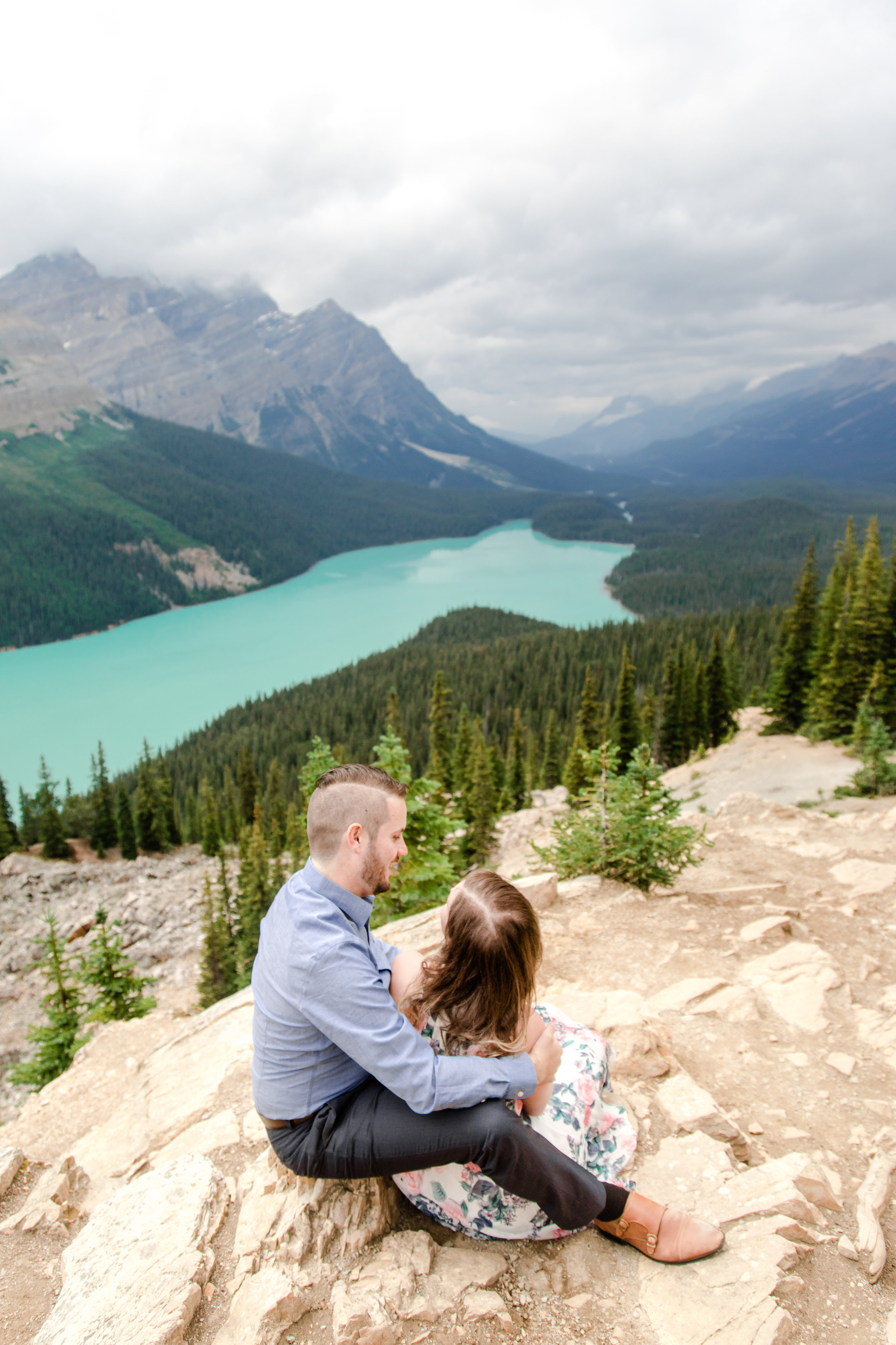 Alberta Rocky Mountains Engagement