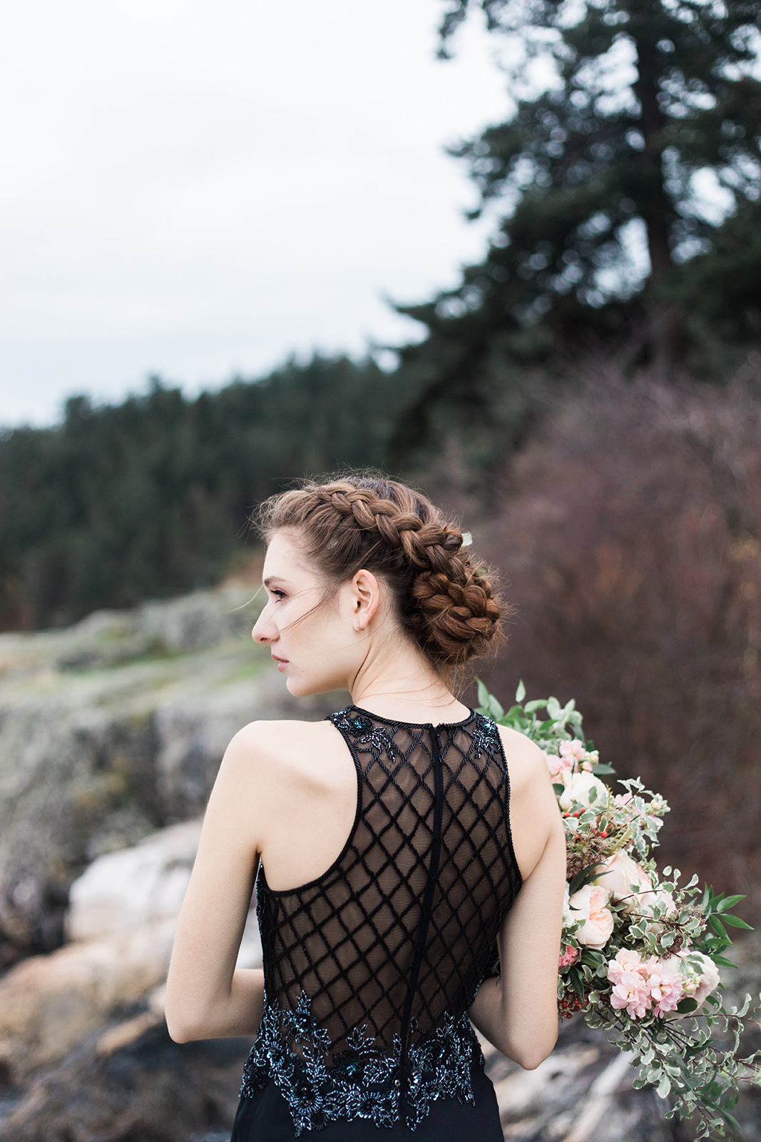 Waves at Whytecliff Park Vancouver Wedding Photographer