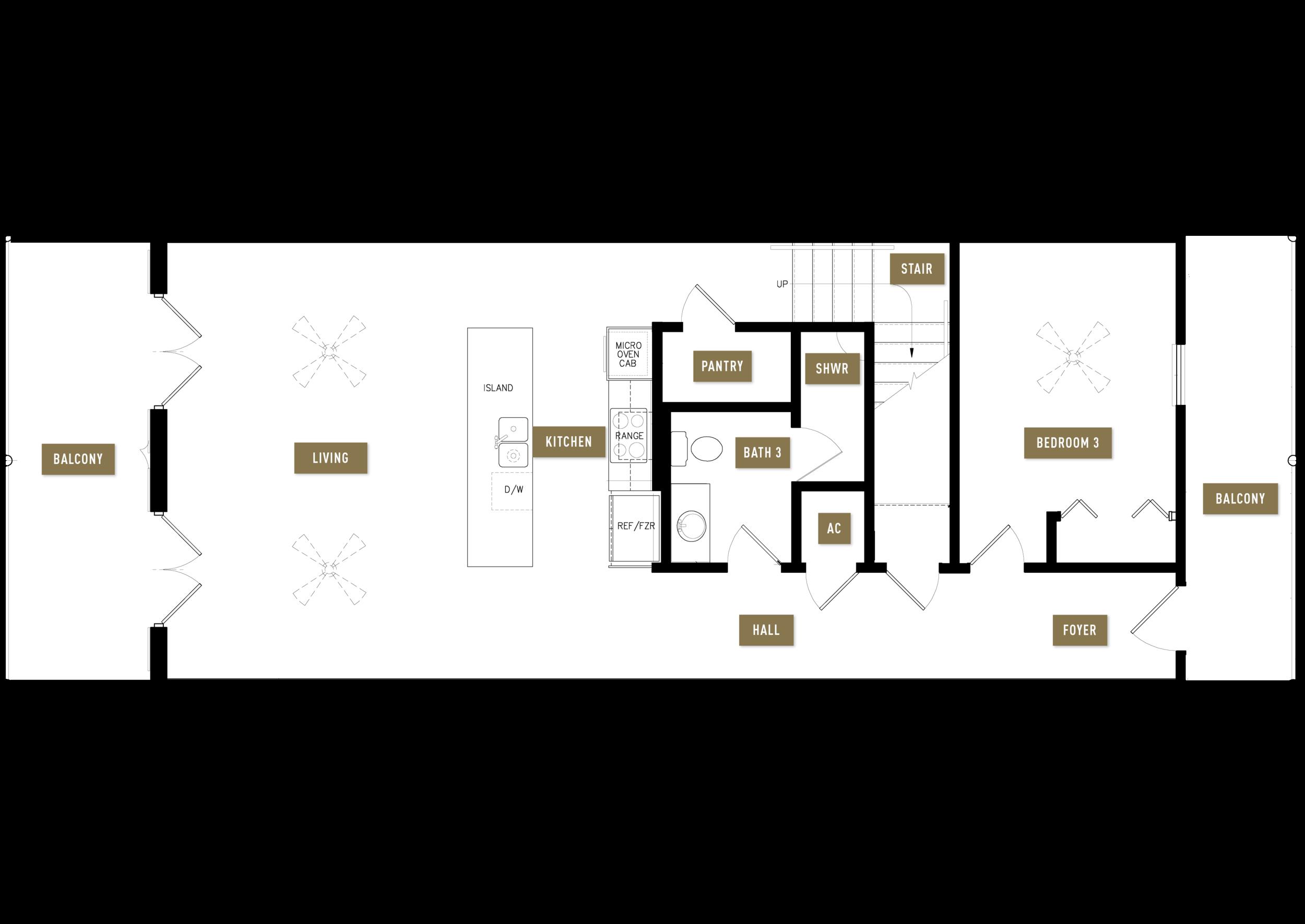 Floor Plan A, 1st Floor
