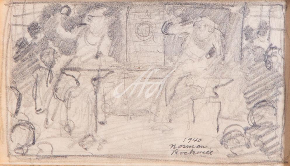 Norman_Rockwell_horsehoe_forging_sketch1 LoRes watermark.jpg