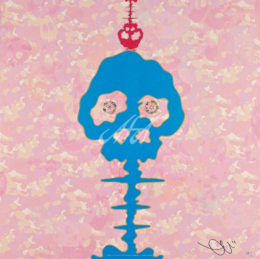 Takashi Murakami - Time Boken Camoflage Pink watermark.jpg