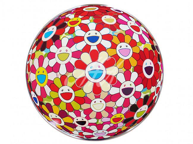 Takashi Murakami - Flower Ball 3D Goldfish Colors watermark.jpg