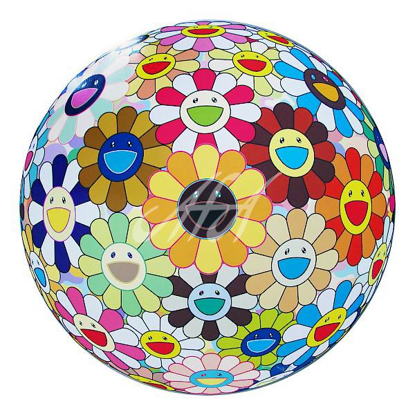Takashi Murakami - Flower Ball 3D Sunflower watermark.jpg