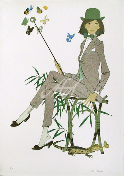 Noyer_Lady in suit with caiman and butterflies watermark.jpg