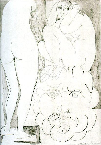 Picasso_Vollard_Model with big bearded head sculpture watermark.jpg