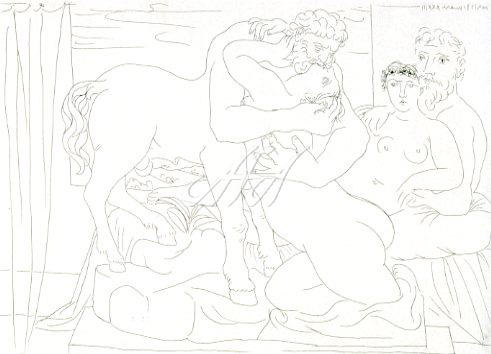 Picasso_Vollard_Resting sculptor in front of a centaur and woman watermark.jpg