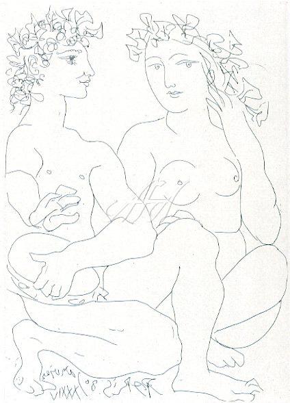 Picasso_Vollard_Young couple, crouching man with tambourine watermark.jpg