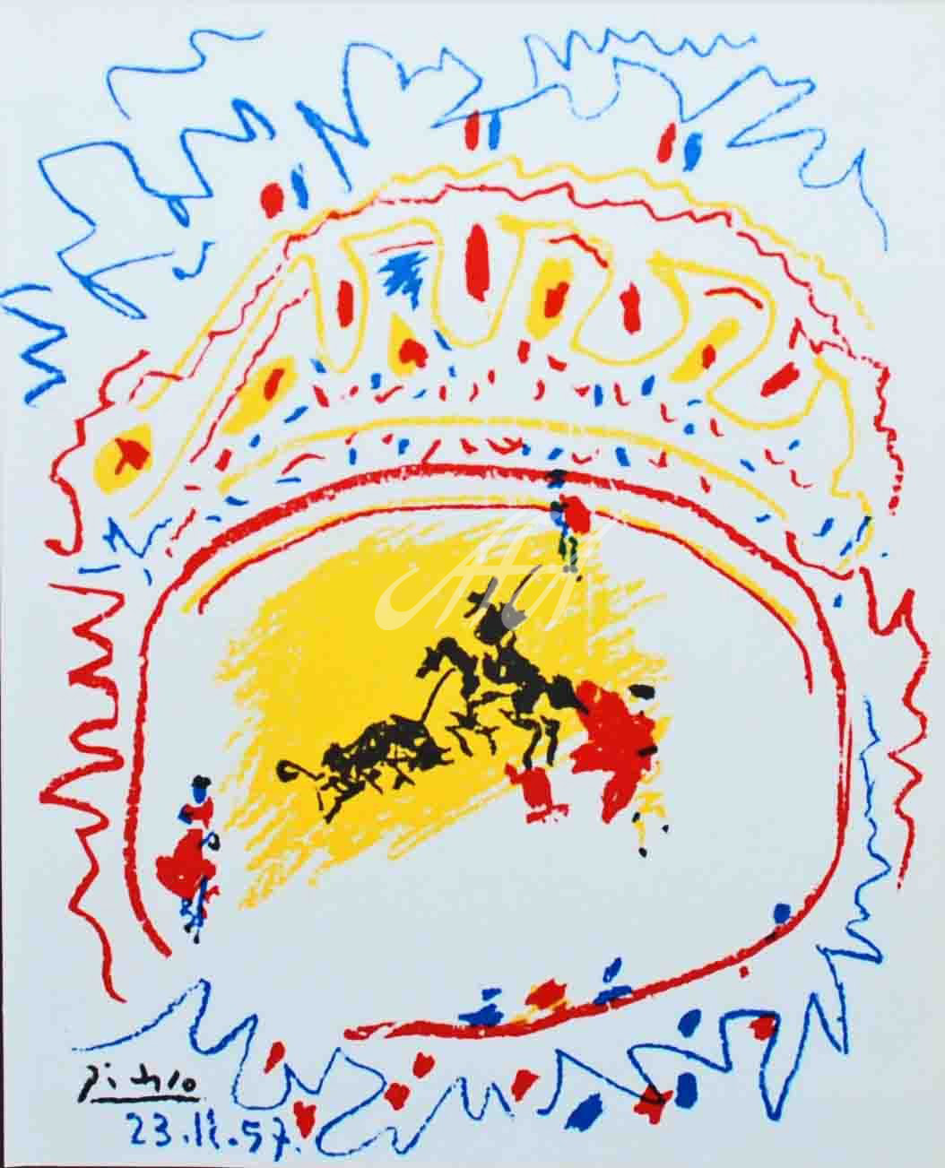 Picasso_La Petite Corrida watermark.jpg