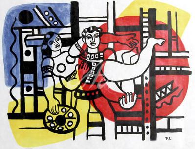 Fernand Leger - Circus Couple watermark.jpg